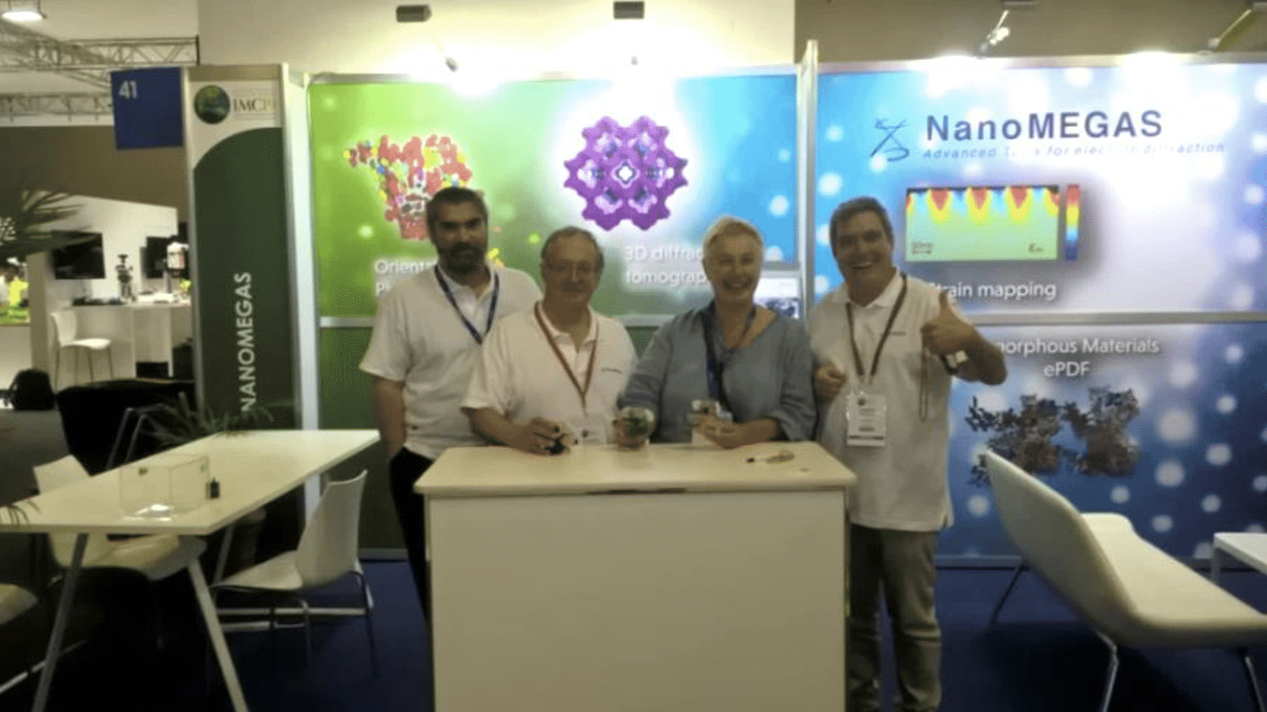 Nanomegas company